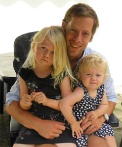 Magnus m Klara och Emma