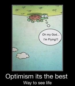 tänk positivt