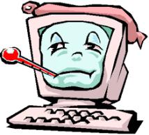 Trött dator