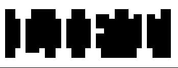 Vad ser du 5 svarta klossar eller ett ord Tjejer ser ordet