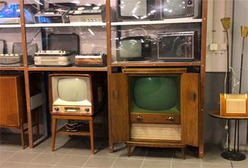 gamla Tv apparater